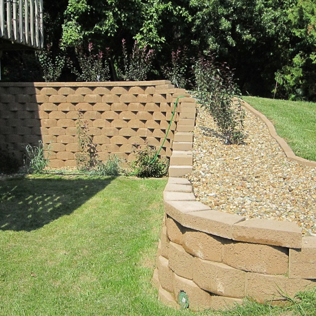 Call Turf Masters Lawn & Landscape for retaining wall installation in Coralville, Tiffin and the Iowa City, IA Area
